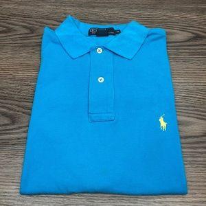 Polo Ralph Lauren Aqua Blue Polo Shirt M